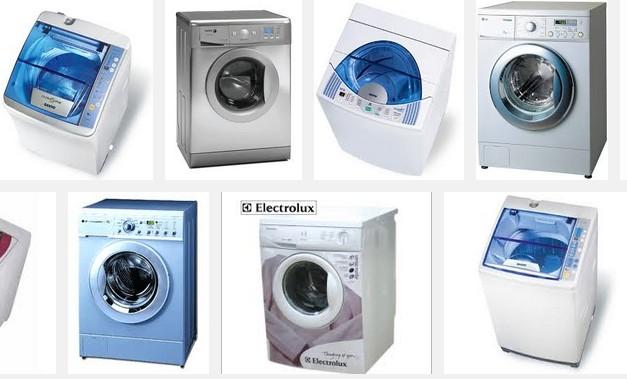 các loại máy giặt và máy sấy