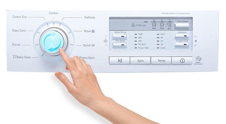Nhiệt độ máy giặt