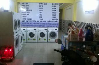 máy giặt công nghiệp thanh lý