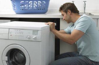 sự cố máy giặt