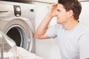 máy giặt có mùi hôi