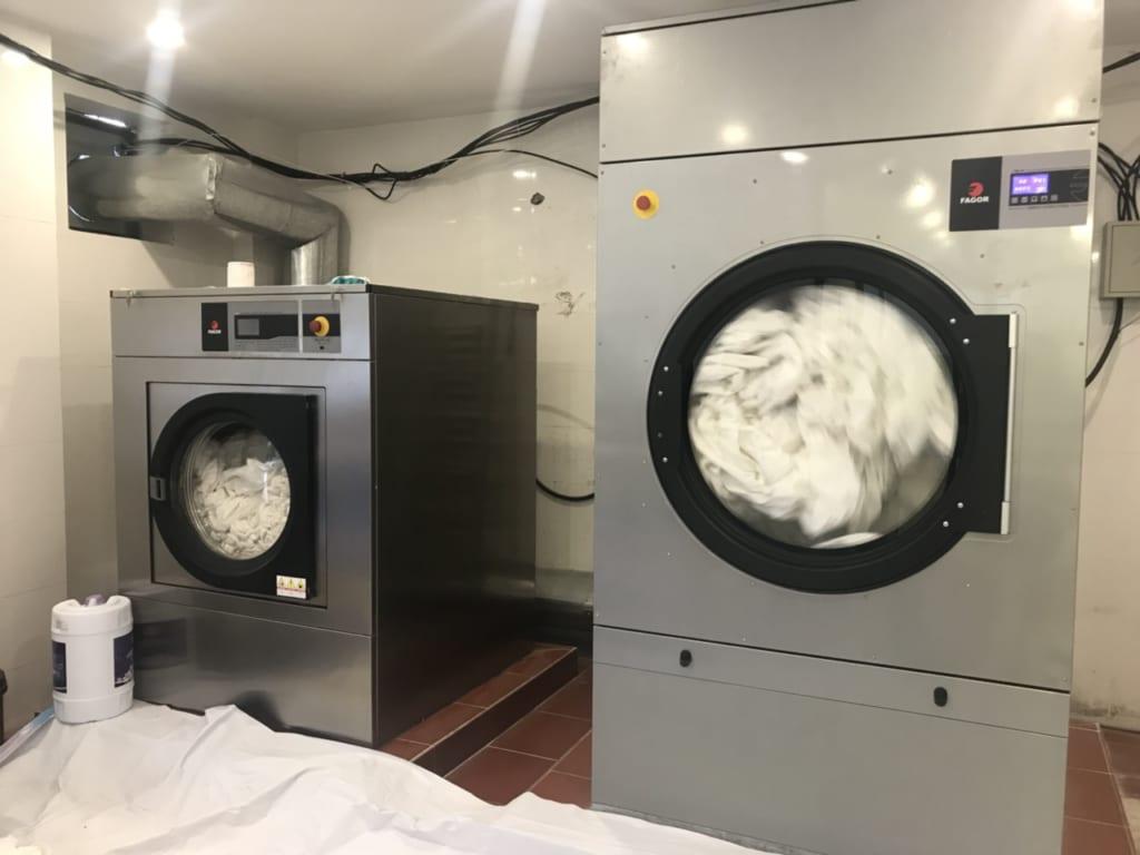 Máy giặt chăn công nghiệp giá rẻ Fagor