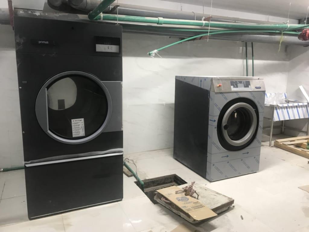 Máy giặt chăn công nghiệp giá rẻ Primus