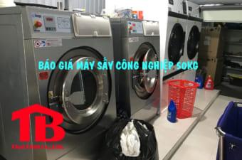 báo giá máy giặt công nghiệp 50kg cho xưởng giặt là