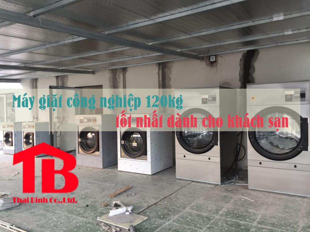 máy giặt công nghiệp 120kg cho khách sạn