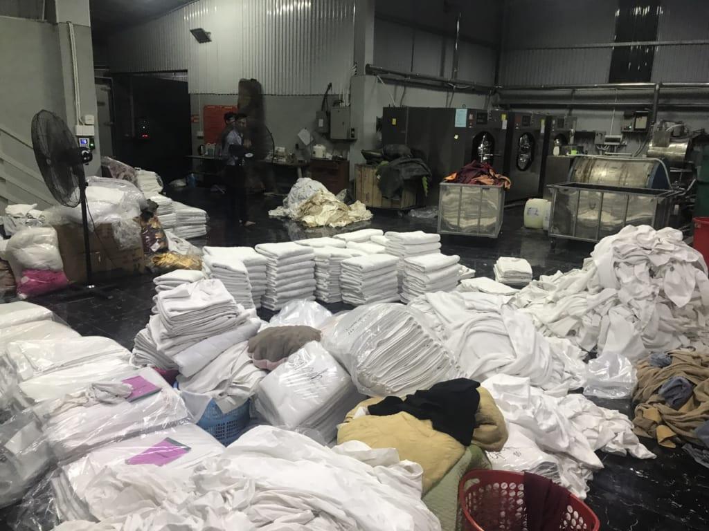 Nhu cầu giặt là công nghiệp