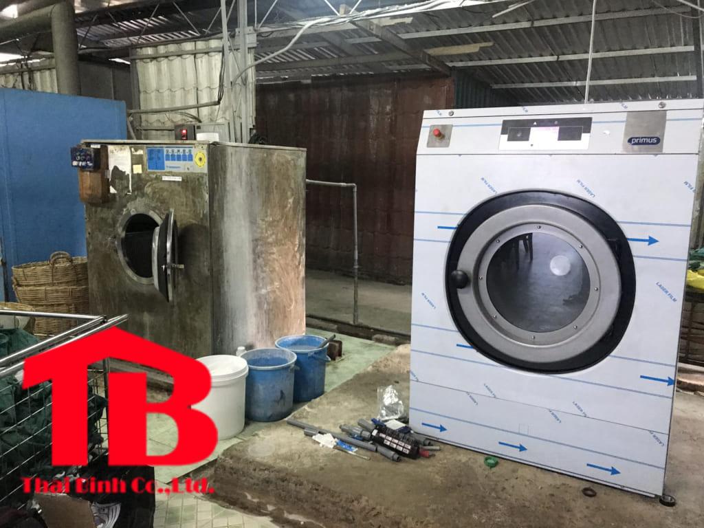 Máy giặt công nghiệp Primus tại bệnh viện