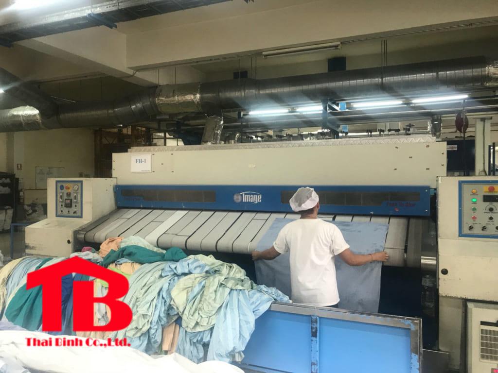 Máy là lô công nghiệp Thái Lan