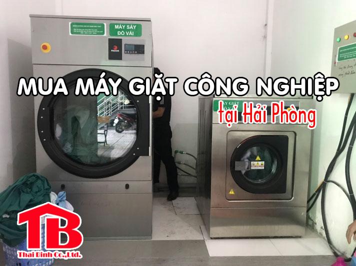 mua máy giặt công nghiệp tại Hải Phòng