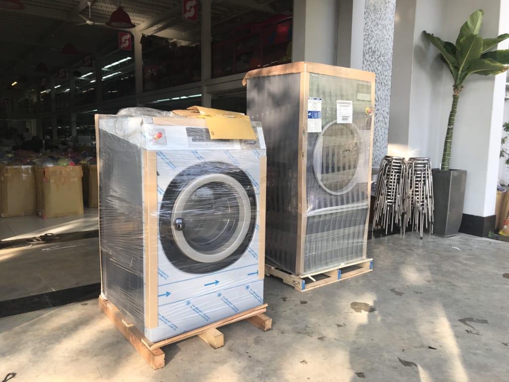 máy giặt côn nghiệp Mỹ Primus
