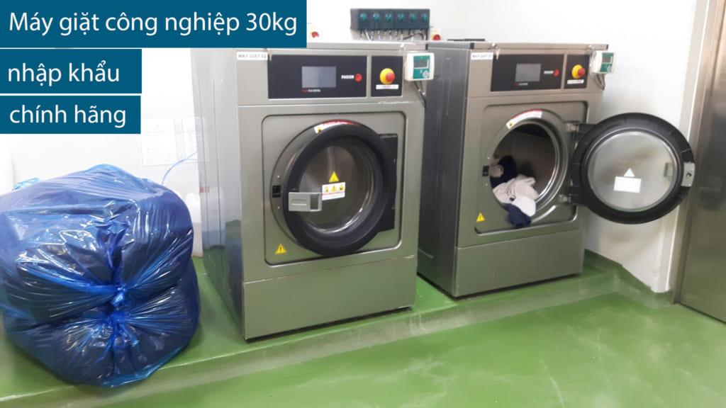 máy giặt công nghiêp 30kg nhập khẩu chính hãng