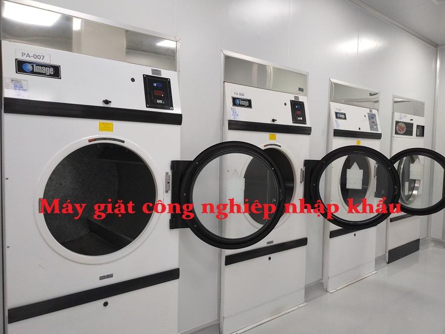 Máy giặt công nghiệp nhập khẩu chính hãng