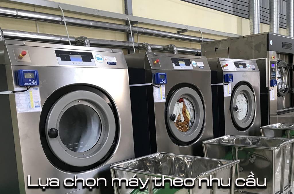 chọn mua máy giặt công nghiệp cho khách sạn